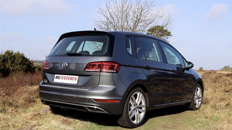 Test Af Volkswagen Golf Sportsvan Volkswagen Service Lemvig